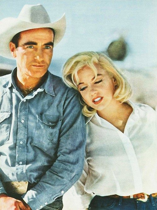 """""""Marilyn was an incredible person to act with… the mostmarvellousI ever worked with, and I have been working for twenty-nine years."""" - Montgomery Clift on working with Marilyn Monroe."""