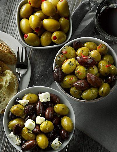 Olive Selection Food