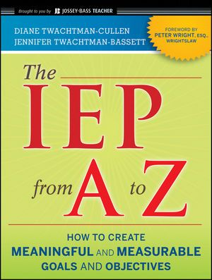 The IEP From A to Z is a step-by-step guide showing teachers and parents how to get the right education plan in place for students with ADHD, Autism/Asperger's, Emotional/Behavioral Disturbance, and related conditions.