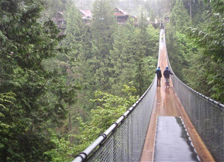 Capilano Bridge ...