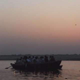 Early morning Varanasi.
