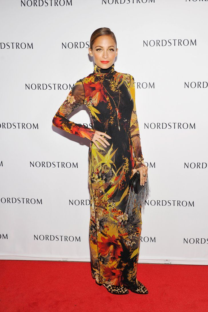 Pin for Later: You Won't Believe How Much Nicole Richie Has Changed Since 2001  Nicole stepped out for a Nordstrom store opening party in LA in September 2013.