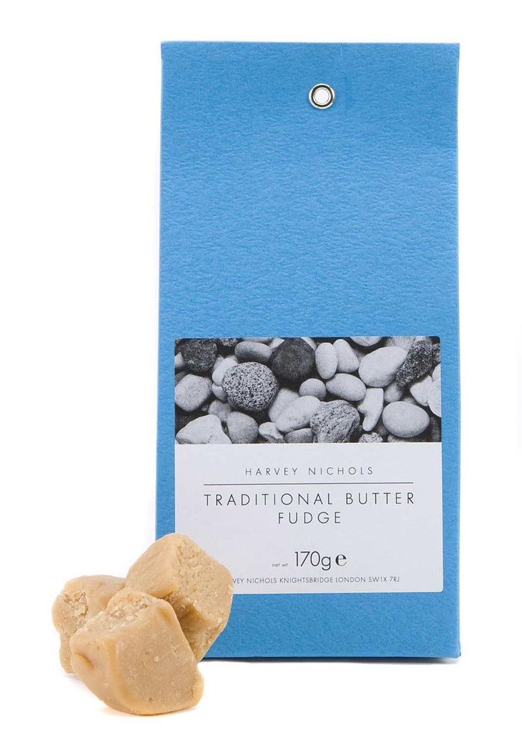 Harvey Nichols Traditional Butter Fudge is handmade in small batches to a traditional recipe and is all natural.£2.91 per 100.00g