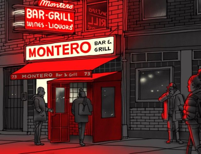 Illustration by Jorge Colombo A Brooklyn Bar Even Grandmothers Would Like - The New Yorker