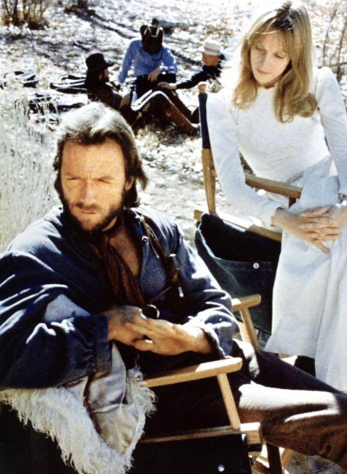 The Outlaw Josey Wales   -Clint Eastwood & Sondra Locke. #clinteastwood #joseywales #theoutlaw #western #movies #sondralocke #eastwood