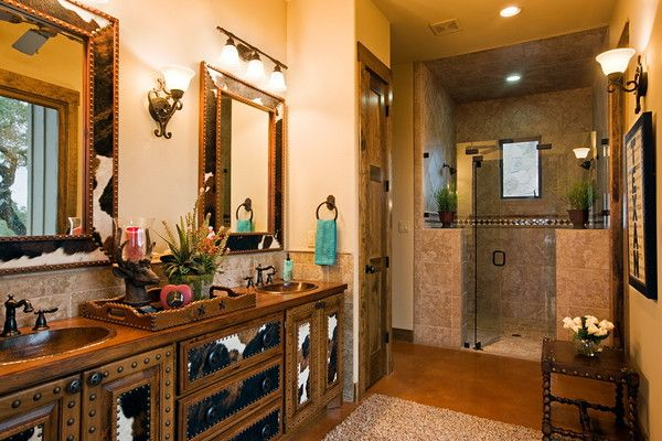 Great western bathroom...a little to much for me but You could get some fantastic ideas from this