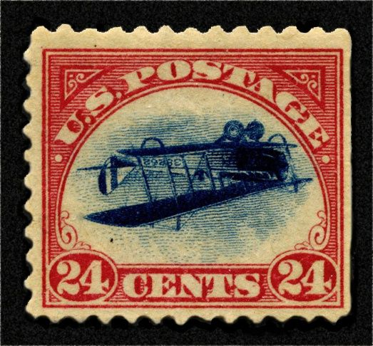 U S Airplane Stamp Stamps Pinterest