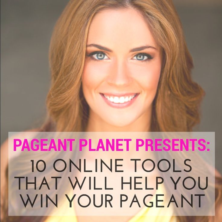Check out The Pageant Planet Podcast! Here you will discover everything you need to win the crown of your dreams. Each episode we interview experts in all categories (PreTeen, Teen, General) and give you the insights to help you win. This episode discusses 10 online tools you can use to help you prepare for your pageant.