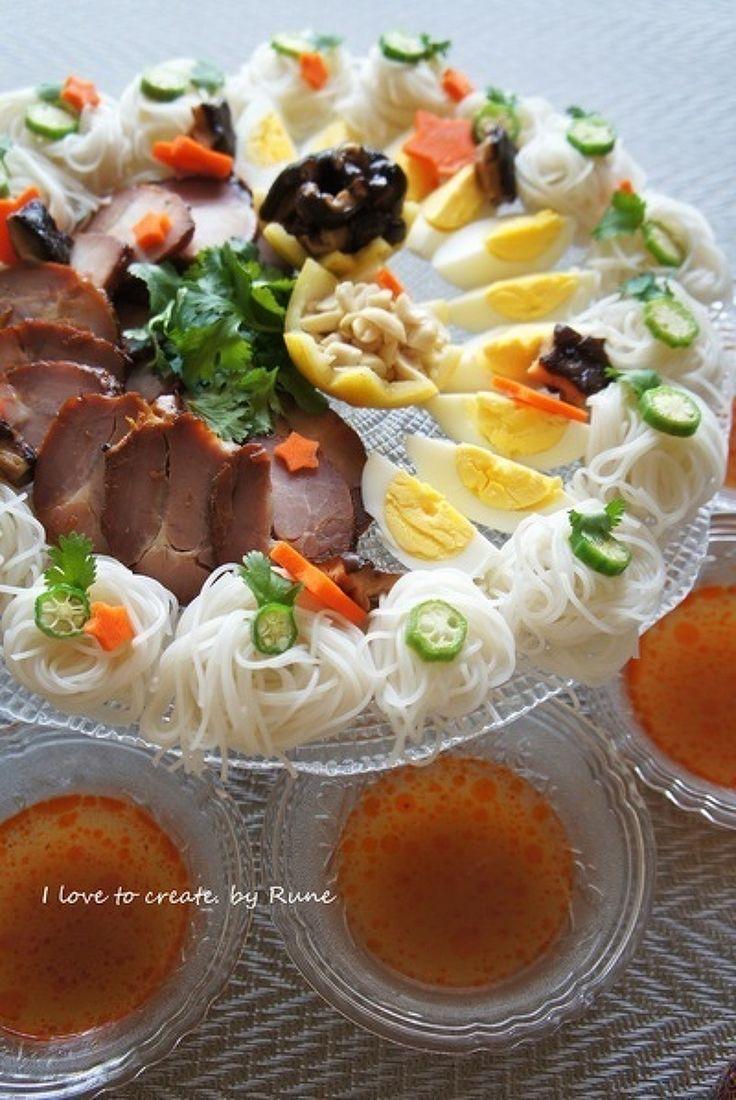 エスニックで七夕麺パーティー by ルネ吉村   レシピサイト「Nadia   ナディア」プロの料理を無料で検索
