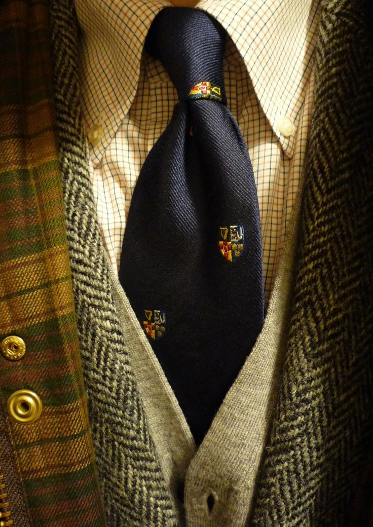 Happy Preppy (justbudfox:   heavytweedjacket:   Tattersall...)