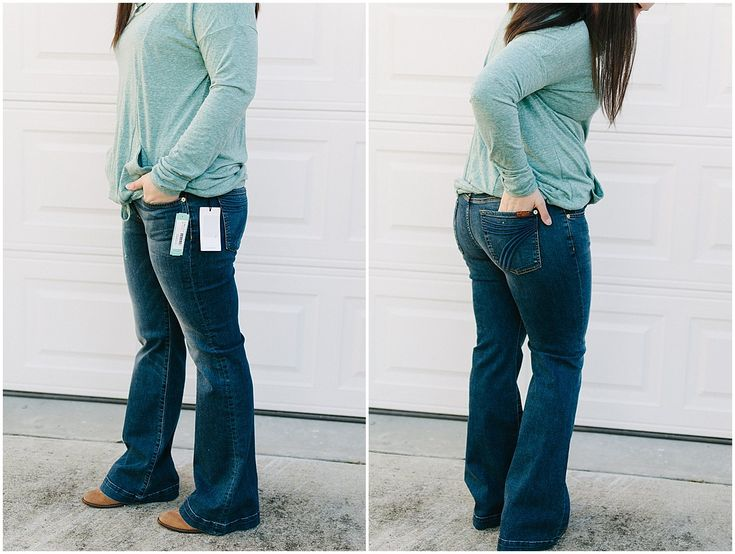 """7 For All Mankind """"Dojo Trouser Jean"""" - Size 14 / 32 - $159 (Ethically made in Mexico) - Stitch Fix Review #48 by North Carolina ethical fashion blogger Still Being Molly"""