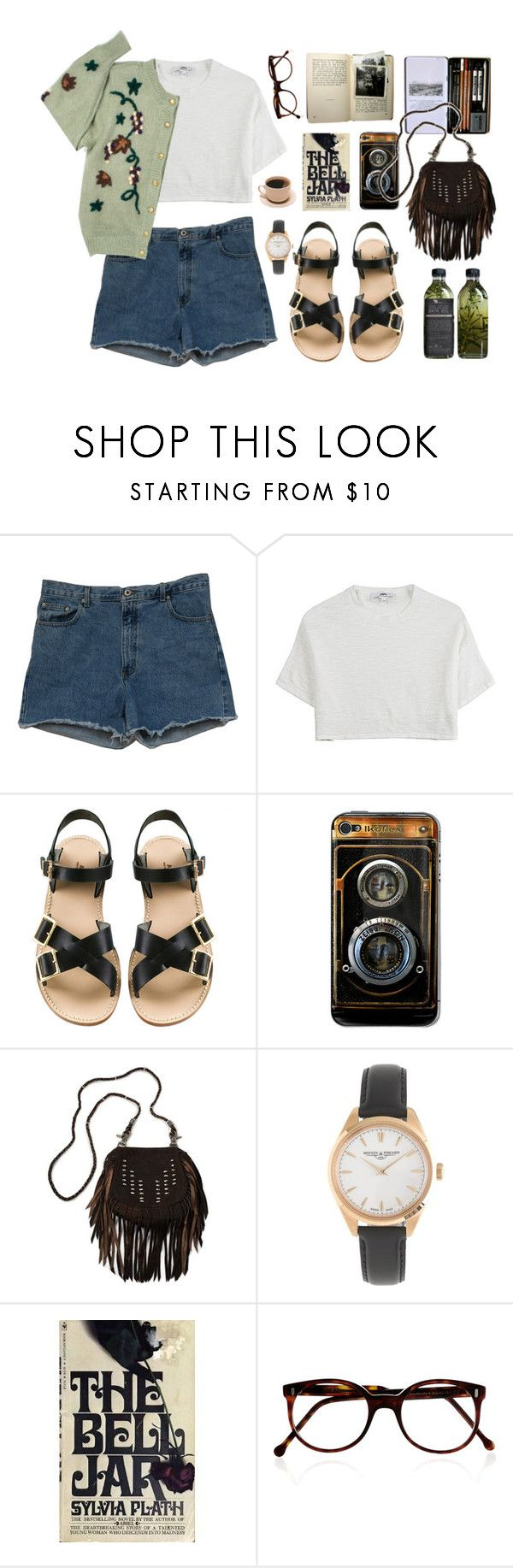 """""""Lyla"""" by green-wild ❤ liked on Polyvore featuring Abercrombie & Fitch, Hope, A.P.C., Zeiss, Vanessa Mooney, J.Crew, Cutler and Gross, vintage, Hipster and indie"""