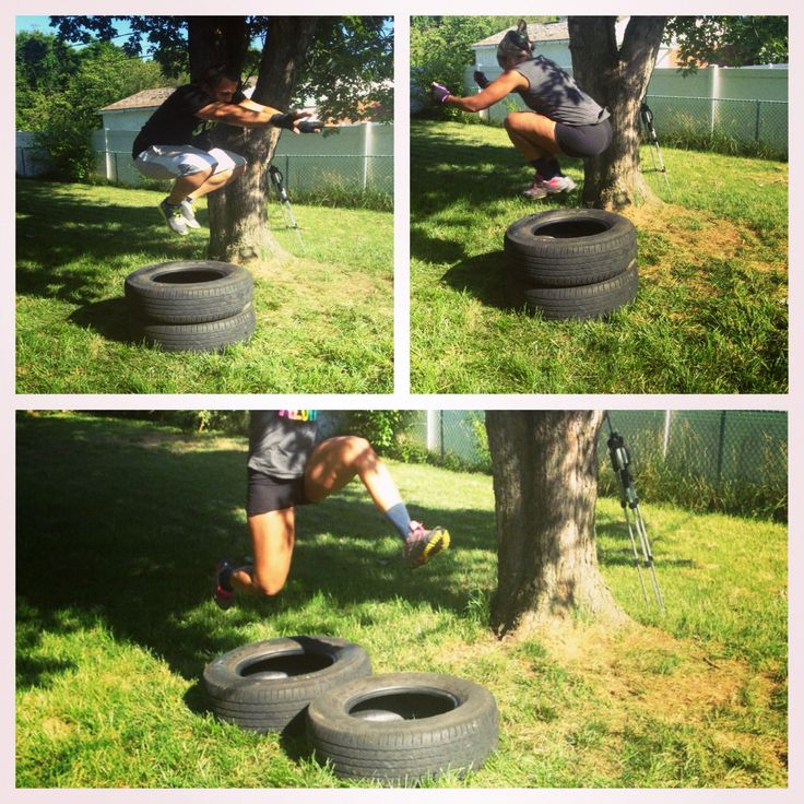 Workout Motivation: Sledgehammers, Tire Jumps and Plyo