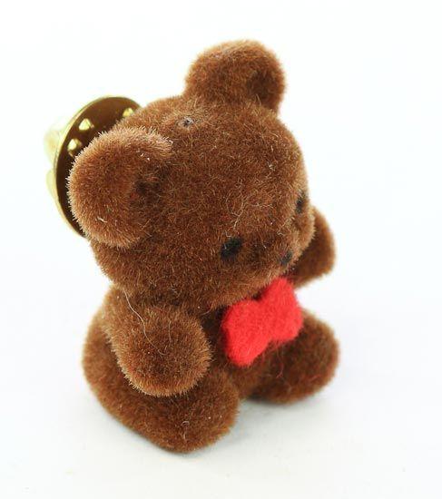 Fuzzy bear pin