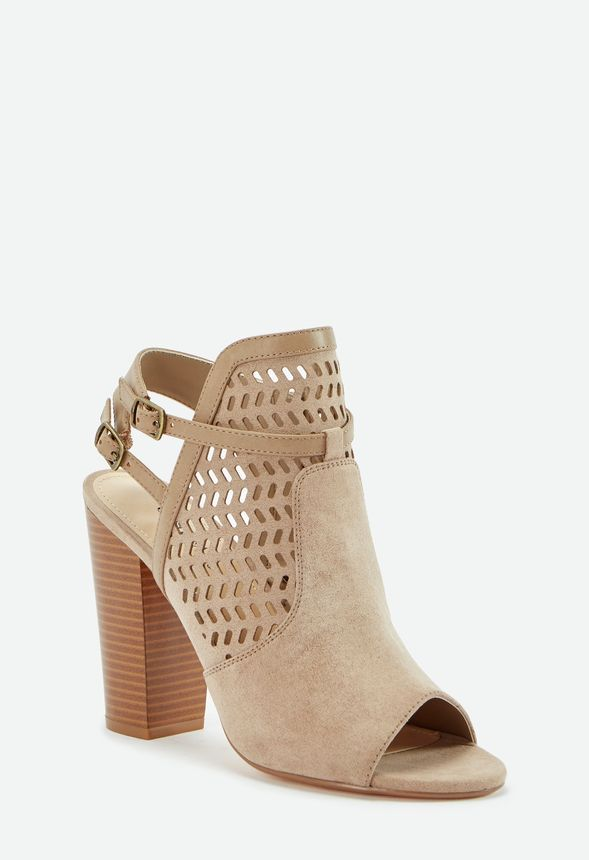 70ce0711f Kessie Cutout Bootie in Taupe - Get great deals at JustFab