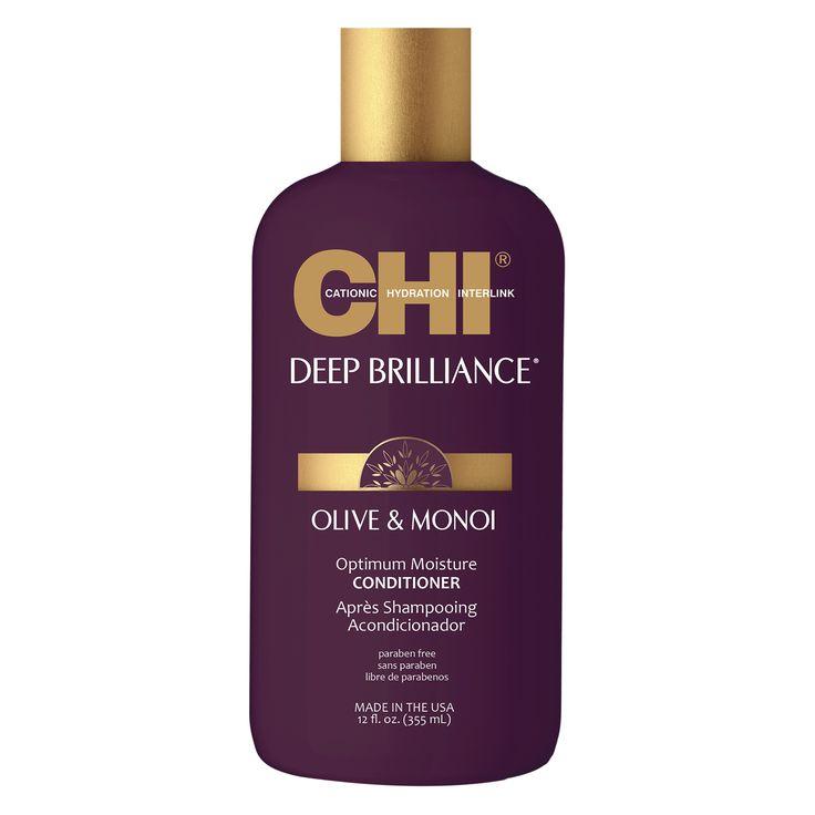 CHI Deep Brilliance Olive & Monoi Optimum Moisture Conditioner 355ml.