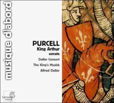 Alfred Deller - Purcell:King Arthur Extraits
