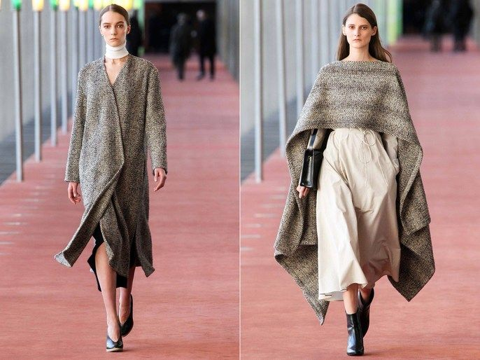 Camille Bidault Waddington Styles For Lemaire During Paris Fashion Week Fall Winter 2015