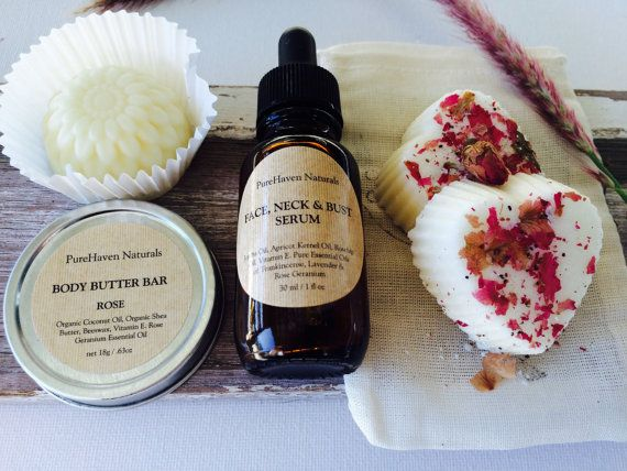 Winter Skin Care Set. For Face & Body: Face by PureHavenNaturals