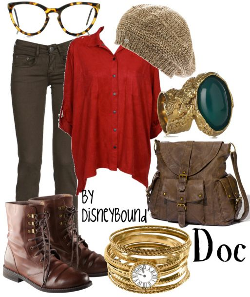 disney inspired: doc, from snow white and the seven dwarfs. although, i believe it resembles happy more.