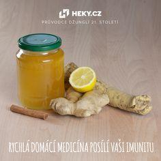 Trápí vás v těchto zimních dnech nachlazení? Zkuste recept, který vás rozhodně postaví na nohy. Zázvor, křen, citrón, med a skořice.