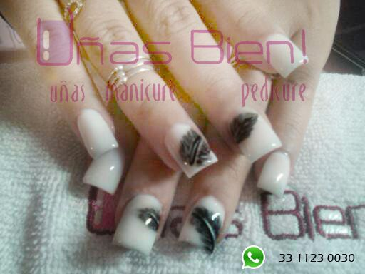 #nails #white #design