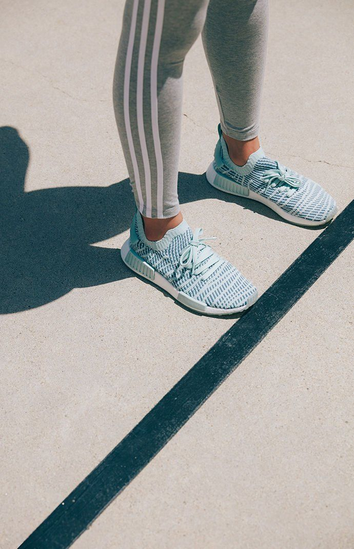 66fa981315430 Women s Green NMD R1 STLT Primeknit Sneakers. Women s Green NMD R1 STLT  Primeknit Sneakers Adidas Nmd R1 ...