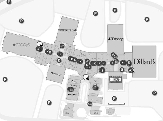The Woodlands Mall Shopping Plan The Woodlands Mall Mall Woodlands