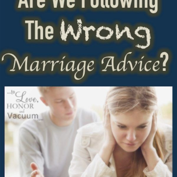 Are we following the wrong marriage advice? When the typical Christian marriage advice seems too superficial. How God wants us to go deeper.
