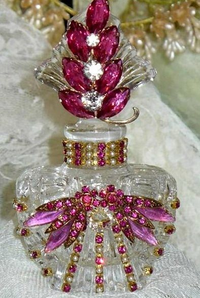 Collectible perfume bottle