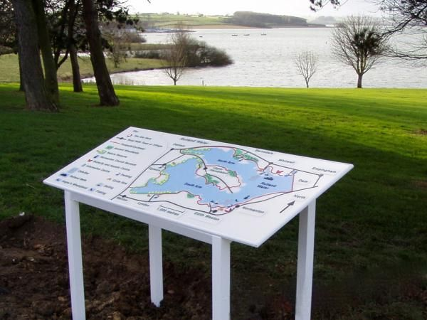 Rutland Water Braille and Tactile Map