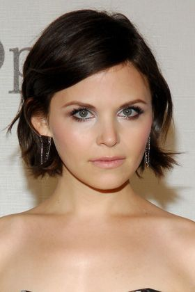 13 Different Ways to Style Short Haircuts. Ginnifer Goodwin wavy bob