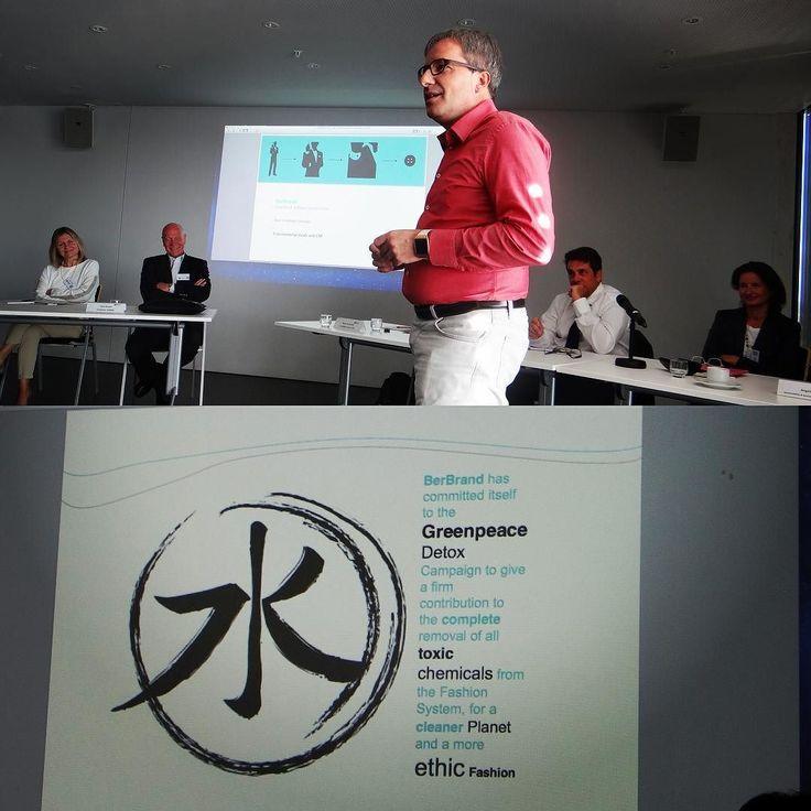 Emanuele Bertoli: CEO of BerBrand and Superlativa at SUMA giving a great presentation on ethical fashion #BerBrand #Superlativa #CEO #business #sustainability #ethicalfashion #fashion #greenpeace #green #peace  by sumasuniversity