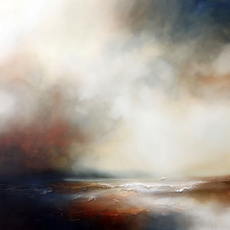 ARTFINDER: At the Edge of the World 2 by Paul Bennett - Semi Abstract Seascape