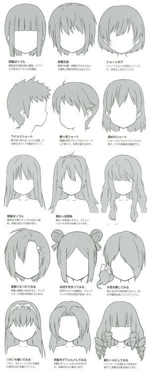 diffrent types of hair