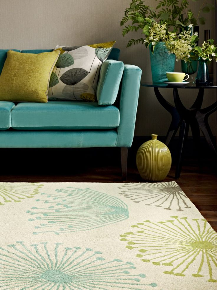 This Sanderson Dandelion Inspired Rug Brings A Subtle Color Variation For Depth Of Character Fuse With