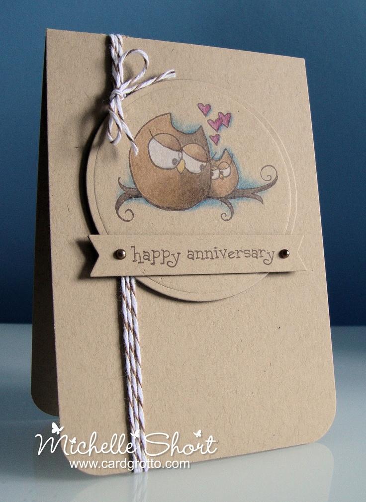 The Card Grotto: Cuddly Owlies - DTDF