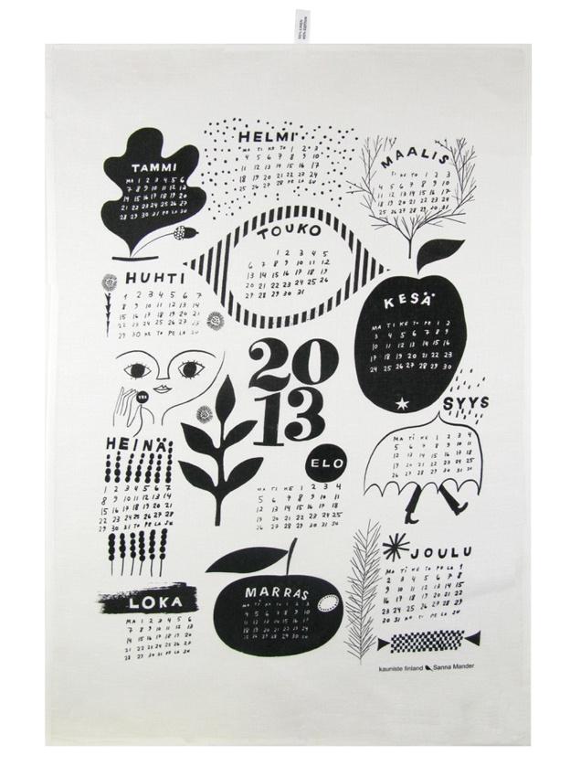 kauniste 2013 calendar