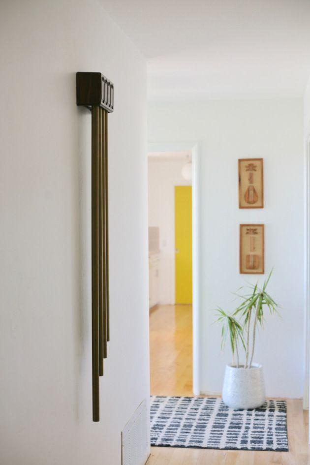 Mid Century Rittenhouse Long Chime Doorbell Door Bell