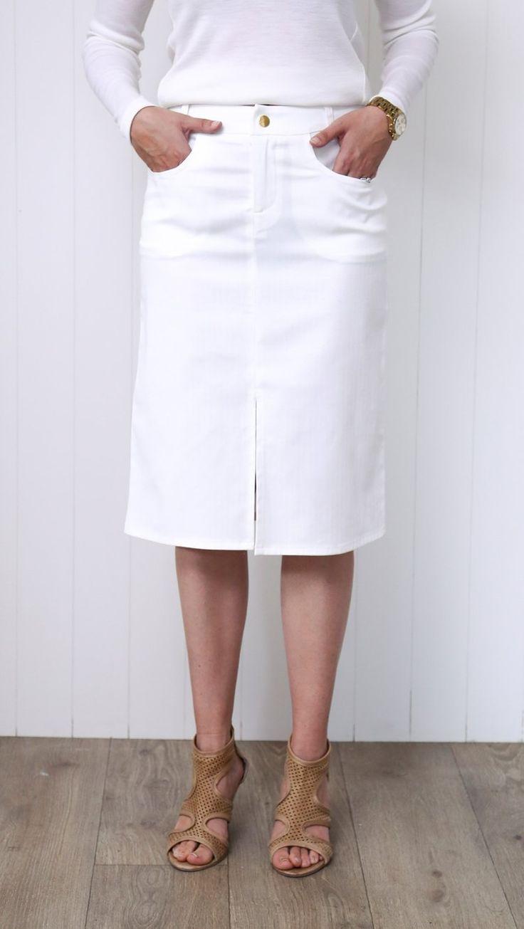 PW Patio Skirt - White
