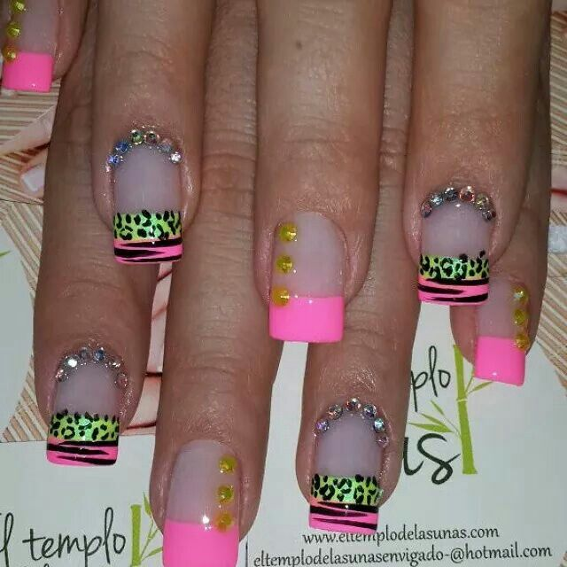 1230 best dramatic nails images on Pinterest | Nail art ...