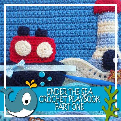 "This is a crochet version of a ""Quiet Book"""