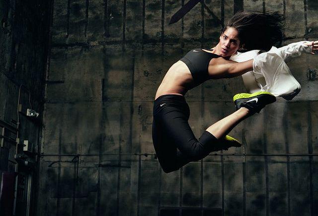 Agile Sofia Boutella by tennis buzz, via Flickr