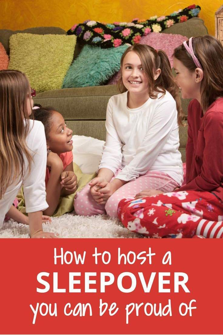 A parent's guide to hosting awesome sleepovers for their kids.