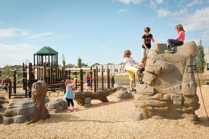 PlayWorks: Elizabeth Finch School Playground in Edmonton, Alberta!
