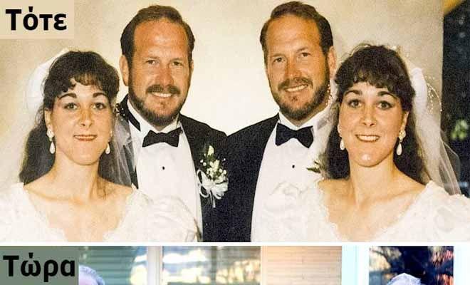 Θυμάστε τις δίδυμες αδερφές που παντρεύτηκαν δίδυμους άντρες; Δείτε 12 Εξωπραγματικά Γεγονότα από την Ζωή τους!                      Όταν οι ομοζυγωτικοί δίδυμοι Doug και Phil Malm μεγάλωναν δεν είχαν ιδέα ότι θα κατέληγαν να παντρευτούν την ίδια γυναίκα…περίπου!   Δεν είχαν ι�
