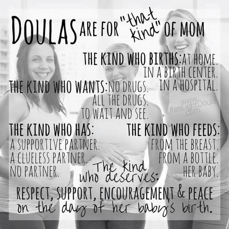 Doulas are for...                                                                                                                                                                                 More