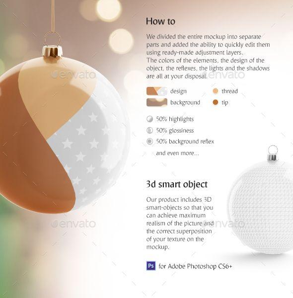 Christmas Tree Ball Animated Mockup Christmas Balls Buy Christmas Tree Christmas Bulbs