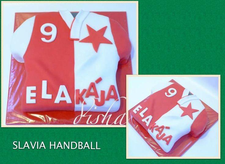 Cake Slavia Praha (dort Slavia Praha)