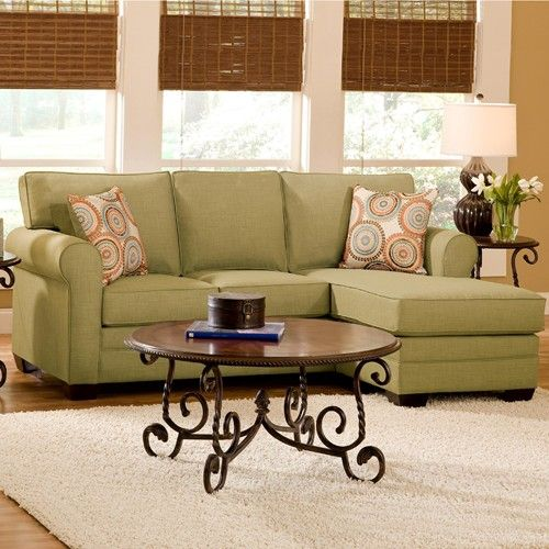 Julian casual sectional with movable chaise by belfort for Sectional sofa virginia